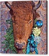 General Crook's Bison Acrylic Print