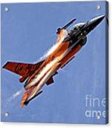 General Dynamics F-16am Fighting Falcon Acrylic Print