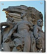 General George Meade Memorial -- Right Side Acrylic Print