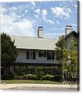 General George S Patton Family Home Acrylic Print