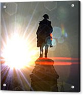 General In Sunrise Flares Acrylic Print