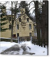 General Wayne Inn In Winter Acrylic Print