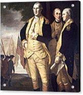 Generals At Yorktown, 1781 Acrylic Print