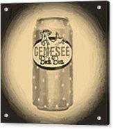 Genesee Bock Beer Acrylic Print