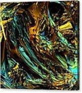 Genesis In Yellow Acrylic Print