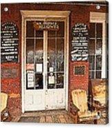 Genoa Saloon Oldest Saloon In Nevada Acrylic Print