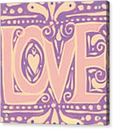 Gentel Love  Acrylic Print