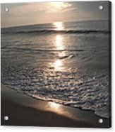 Ocean - Gentle Morning Waves Acrylic Print