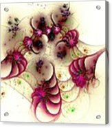 Gentle Pink Acrylic Print