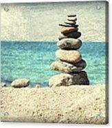 Gentle Sea Breeze Acrylic Print