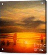 Gentle Sunset Vision Acrylic Print