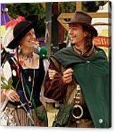Gentleman And His Lady Acrylic Print