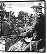 Gentleman Rider Acrylic Print