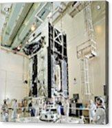 Geo-1 Satellite In Lab Acrylic Print