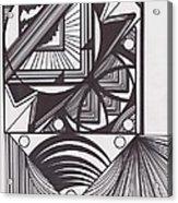 Geo Doodle Acrylic Print