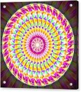 Geo Master Eleven Kaleidoscope Acrylic Print