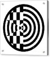 Geomentric Circle 3 Acrylic Print