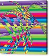 Geometric 3 Acrylic Print by Mark Ashkenazi