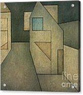 Geometric Abstraction II Acrylic Print