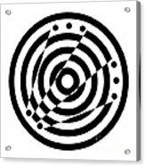 Geometric Circle 6 Acrylic Print