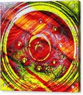 Geometric Colors  Acrylic Print