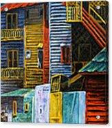 Geometric Colours I Acrylic Print by Xueling Zou