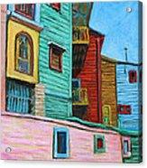Geometric Colours II Acrylic Print