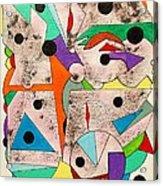 Geometric Conundrum Acrylic Print