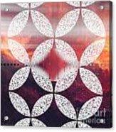 Geometric Elevator To The Universe Acrylic Print