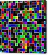 Geometric Pattern 2 Acrylic Print