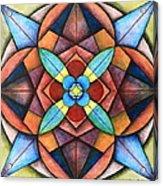 Geometric Symmetry Acrylic Print