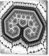 Geometric Tree No. 4 Acrylic Print