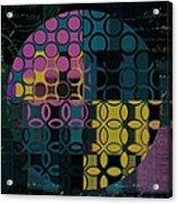 Geomix 14 - J049173176b2t Acrylic Print