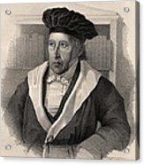 Georg Wilhelm Friedrich Hegel Acrylic Print