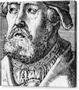 Georg Witzel (1501-1573) Acrylic Print