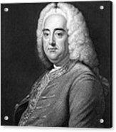 George Frederic Handel Acrylic Print