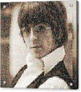 George Harrison Mosaic Image 2 Acrylic Print