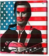 George Jones American Country Acrylic Print