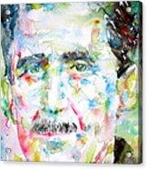 George Orwell Acrylic Print