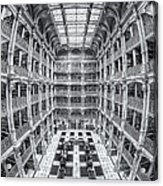 George Peabody Library Iv Acrylic Print