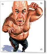 George The Animal Steele Acrylic Print by Art