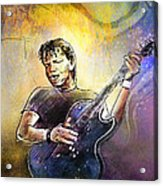 George Thorogood In Cazorla In Spain 02 Acrylic Print
