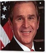 George W Bush Acrylic Print