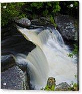 George W Childs Park Waterfall Acrylic Print