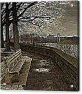 George Washington Bridge From Fort Tryon Acrylic Print