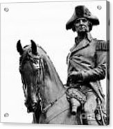 George Washington Statue Boston Ma Acrylic Print
