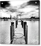 Georgetown Dock Acrylic Print
