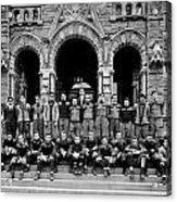 Georgetown Football 1910 Acrylic Print
