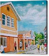 Georgetown Grand Cayman Acrylic Print