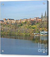 Georgetown University Neighborhood Acrylic Print by Olivier Le Queinec